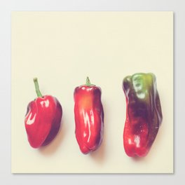 peppers photograph. hot Canvas Print