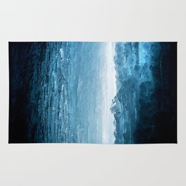 Blue Ice Cave Rug