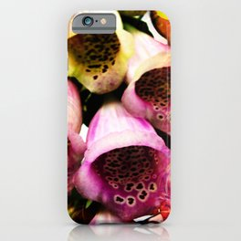 Abstract in Perfection - Flowermagic Bluebell iPhone Case
