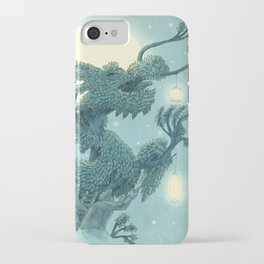 The Night Gardener - The Dragon Tree, Night iPhone Case