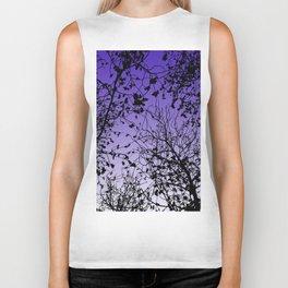 Violet sky Biker Tank