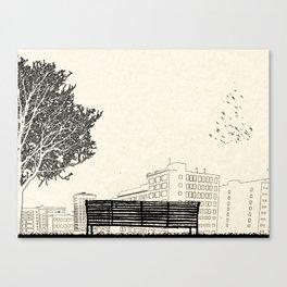 Tom's Favourite Spot —Angels Knoll Park, LA —(500) Days of Summer Canvas Print