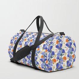 folk spring flowers no2 Duffle Bag