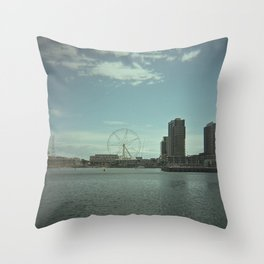 Lomography City Throw Pillow