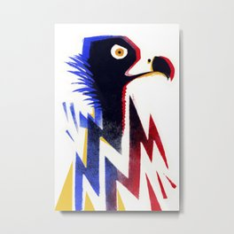 Elecrtic vulture Metal Print