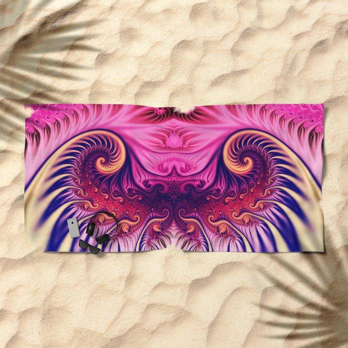 Rolling Ocean Wave Beach Towel