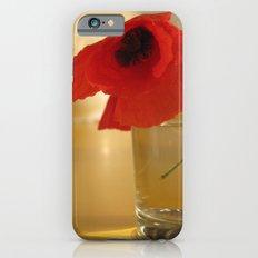 Italian Poppies iPhone 6s Slim Case