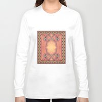 ashton irwin Long Sleeve T-shirts featuring Ebola Tapestry-2 by Alhan Irwin by Microbioart