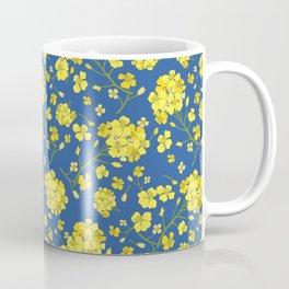 Floral Love of Mustard Coffee Mug
