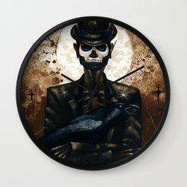 Shadow Man 2 Wall Clock