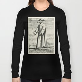 Plague Doctor Long Sleeve T-shirt