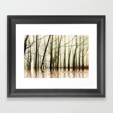 GHOST TREES Framed Art Print