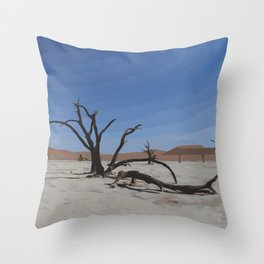 Deadvlei - Namibia Throw Pillow