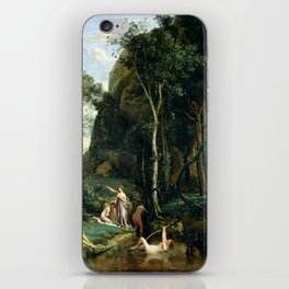 Camille Corot Diana and Actaeon iPhone Skin