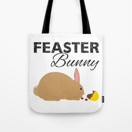 Feaster Bunny Tote Bag