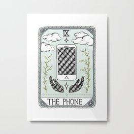 The Phone Metal Print