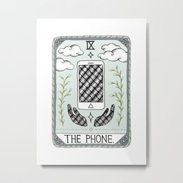 The Phone Metal Print