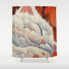 SLEEPING CLOUD by Raphaël Vavasseur Shower Curtain
