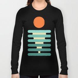 Minimalist ocean Long Sleeve T-shirt