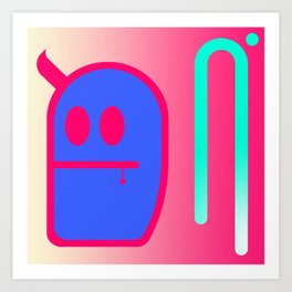 Mr. Grubbo Art Print