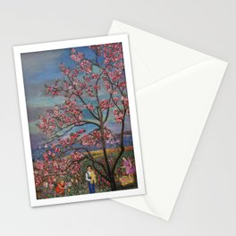Under The Magnolia Tree Stationery Cards