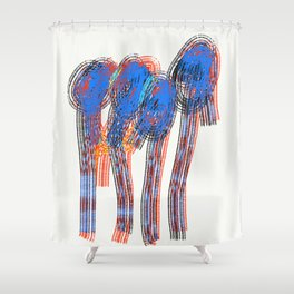 Lonliness Fears 16 Shower Curtain