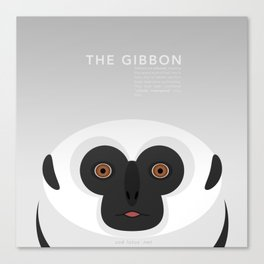 The Gibbon Canvas Print
