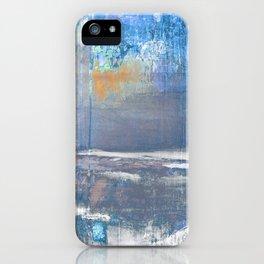 Blue Color Patches iPhone Case