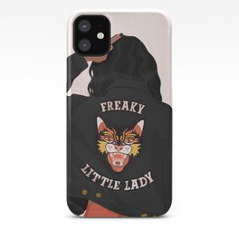 Freaky Little Lady iPhone Case