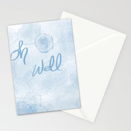 Oh Blue Stationery Cards