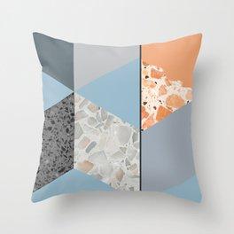 Terazzo Tiles Throw Pillow