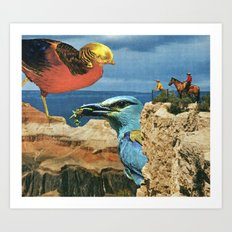 Ornithophobia Art Print