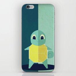 Squirtle PokemonGo Minimalistic iPhone Skin