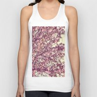 sofa Tank Tops featuring floral sofa by vibeyantlers