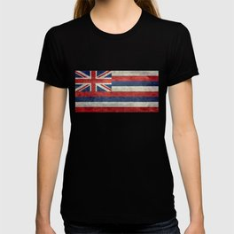 The State flag of Hawaii - Vintage version T-shirt