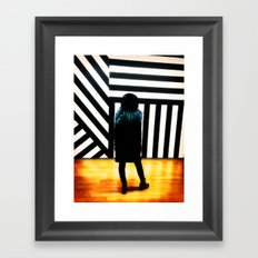 The Muse at the Museum Framed Art Print