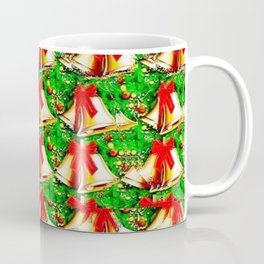Christmas Bells Stereogram Coffee Mug