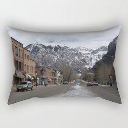 Downtown Telluride, Colorado Rectangular Pillow