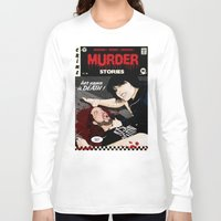 dramatical murder Long Sleeve T-shirts featuring MURDER STORIES by Thomas B.- Rock Artwork