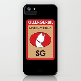 Killer Gerbil Red Tubing iPhone Case