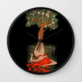 Spirit Of The Trees Wall Clock