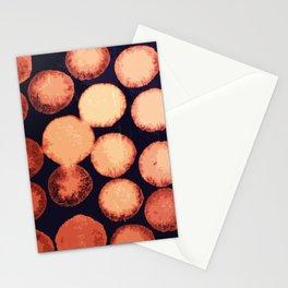Dark Black Nets 1 Stationery Cards