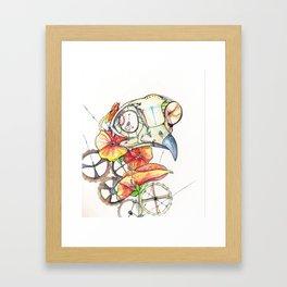 Time Keeper Framed Art Print