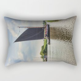 Albion on the River Thurne Rectangular Pillow