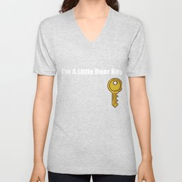 I'm A Little Door Key Unisex V-Neck