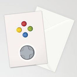 Xbox - Buttons Stationery Cards