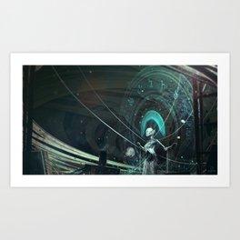 Solar circles Art Print