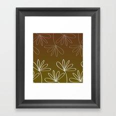 Floralis Framed Art Print
