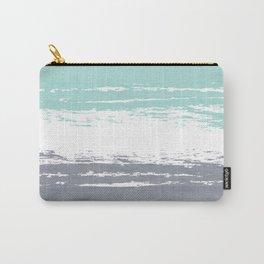 Pastel Color Blocks - Teal & Petroleum Carry-All Pouch