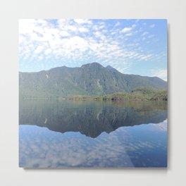 Perfect Reflection, Tofino BC Metal Print